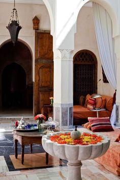 Spaces. Riad el Fenn, Marrakech, Morocco