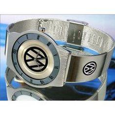 vw silver watch