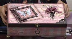 Mulher.com 07/07/2014 - Caixa Vintage por Livia Fiorelli
