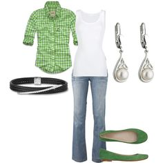 Luck of the Irish, created by hndwrittnn on Polyvore