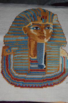 Tutankamon - Ponto de cruz