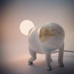 """""""Something is in my back.... #ceramics #lightbulb"""" by Il Sung Na"""
