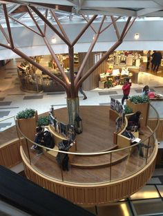 37 Trendy Ideas For Mall Seating Design Shopping Mall Interior, Retail Interior, Interior Shop, Retail Architecture, Commercial Architecture, Mall Design, Retail Design, Design Design, Design Ideas