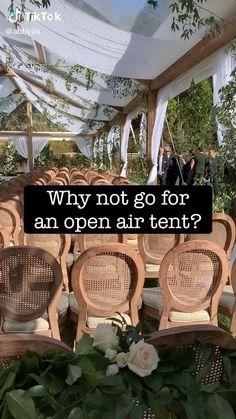Diy Outdoor Weddings, Outdoor Wedding Reception, Outdoor Wedding Decorations, Tent Wedding, Outdoor Wedding Venues, Outside Wedding, Farm Wedding, Garden Weddings, Wedding Set Up