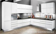 Oasi - Mondo Convenienza | kitchen | Pinterest | Cupboard, Shelves ...