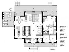 Light and Spacious Home Outside of Kiev / Prodan Design, Floor Plan-G