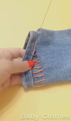Sewing Basics, Sewing Hacks, Sewing Tutorials, Sewing Crafts, Sewing Projects, Tutorial Sewing, Diy Clothes And Shoes, Sewing Clothes, Remake Clothes