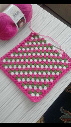 Diy Crafts - This Pin was discovered by HUZ Diy Crafts Knitting, Diy Crafts Crochet, Crochet Art, Crochet Projects, Crochet Stitches Patterns, Crochet Designs, Crochet Baby Hats, Baby Blanket Crochet, Tunisian Crochet