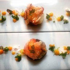 Surf & turf  Beff / Lobster / mango / pea / coriander  #art #foodphoto #theartofplating #experfoods #chefstalk #chefofinstagram #finedining#gastoart #foodart #foodoftheday #art #foodphoto #theartofplating #experfoods #chefstalk #chefofinstagram #finedining #cheflife #chefs #experience #foodshare #theartofplating #portdesoller #espasseig # by branschi