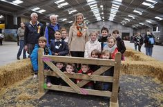 The Countess of Wessex as President of Royal Cornwall Agricultural Association, attended the Farm and Country Schools Day at The Royal Cornwall Showground at Wadebridge, Cornwall.