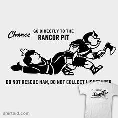 Rancor Pit t-shirt #Star Wars