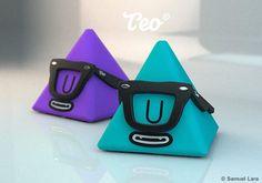 Teo Vinyl Toy #designertoys