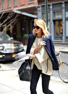 Rosie arrives at the Crosby Hotel in NY, May 13