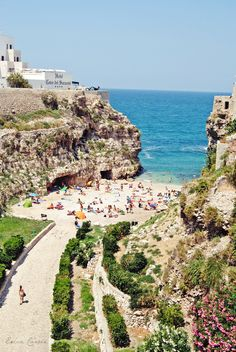 Polignano a Mare, Puglia | Italy Reaming here is a great deal http://www.hotelscombined.com/Hotel/Hotel_Covo_dei_Saraceni.htm?a_aid=94438