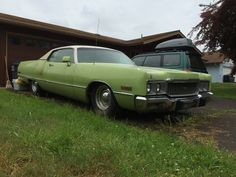 CC Outtake: 1973 Chrysler Newport – The Green Giant Chrysler Newport, Lead Sled, Aesthetic Vintage, Mopar, Vintage Cars, Classic Cars, Green, Autos, Cutaway