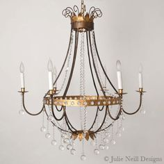 Julie Neill Designs in New Orleans - gorgeous lighting Home Lighting, Outdoor Lighting, Handmade Chandelier, Bubble Chandelier, Transitional Chandeliers, Lighting Companies, The Ranch, New Orleans, Light Fixtures