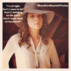 I'm alright... Don't I seem to be? - Brandi Carlile Lyrics