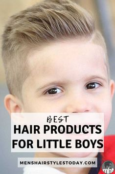 Discover The Best Hair Products For Boys - Style The Best Boys Haircuts and Hairstyles With High-Quality Gels, Pomades, Waxes, Clays - Check Out These Top Hair Styling Products For Toddlers, Little Bo Cute Hairstyles For Boys, Boy Haircuts Long, Cool Boys Haircuts, Baby Boy Hairstyles, Toddler Boy Haircuts, Little Boy Haircuts, Toddler Hair, Layered Haircuts, Little Boys Hair