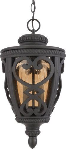 Quoizel FQ1910MK01 French Quarter 2-Light Outdoor Hanging Lantern, Marcado Black by Quoizel. $133.67. From the Manufacturer Reminiscent of the iron details often seen of the most-loved areas of New Orleans, this historic design is made of cast aluminum and amber glass that casts a warm glow to welcome visitors to your doorstep. Product Description Renaissance 2 Light Outdoor Pendant Reminiscent of...