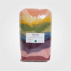 Filzwolle von Filges 100 % Schurwolle (Bioland Qualität) Pfanzengefärbte Filzwolle von Filges in schönen leuchtenden Farbtönen zum Nassfilzen. Das Filzen ist eine Beschäftigung, die man mit Kindern sehr...