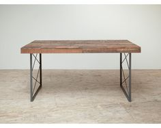 Stunning Reclaimed 'Appalacian' Patchwork Dining Table or Desk. $1,195.00, via Etsy.
