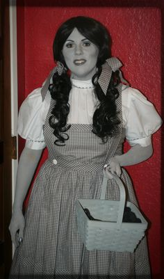 Dorothy Gale   The Wizard of Oz   Greyscale   Black and White   Costume