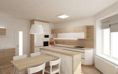 Prosim o nazory na vizualizaciu kuchyne s obyvacko...