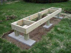 A & K's Honey Bees: Hive Stand ready for action.