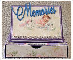 Scrappiness: Utfordring #15 April/mai. Envelopes, Decorative Boxes, Purses, Handbags, Purse, Bags, Decorative Storage Boxes
