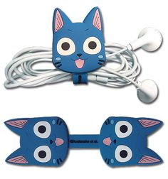 Fairy Tail Cord Organizer - Happy @Archonia_US