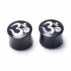 Features genuine mother of pearl ohm symbol. Always keep in a dry and well-ventilated area. Sold as a pair. Ohm Symbol, Organic Plugs, Gauges Plugs, Natural Materials, Moisturizer, Place Card Holders, Symbols, Pairs, Metal