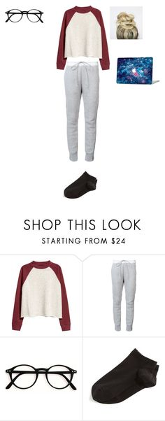 """""""Untitled #93"""" by reka15 on Polyvore featuring H&M, Sacai and Wolford"""