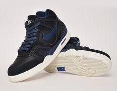 #Nike Air Tech Challenge II Black/Navy #sneakers