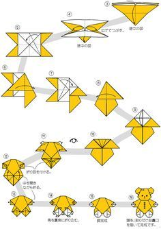 Step By Instructions On How To Fold An Origami Cat All Notes