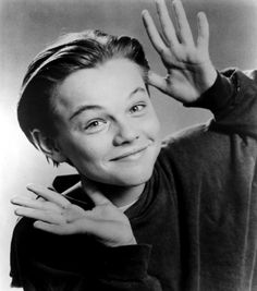"Leonardo DiCaprio in a promotional still from ""Growing Pains"" (1991) - photographed by Ron Batzdorff"
