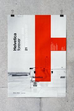 Helvetica forever on Behance