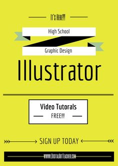 It's Here!!! Illustrator Tutorials