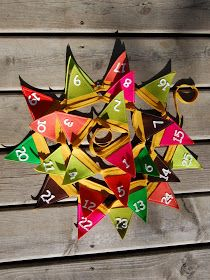 tinkerknits: Pocket Bunting Advent Calendar Tutorial