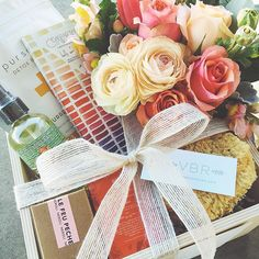It's a Spa Box kinda day... #valleybrinkroad #vbrgifts #vbrflowers #gifts #giftboxes #giftbaskets #gifting #spa #beauty #losangeles #flowers