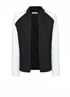 Baseball style jacket
