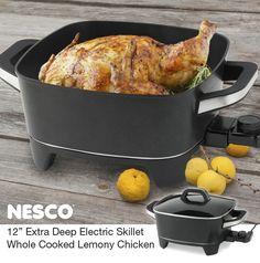 NESCO®: Roaster Ovens | Dehydrators | Small Appliances | Jerky Spices  | Whole Cooked Lemony Chicken