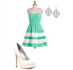 Short dress outfit