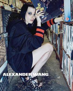 Alice Glass for Alexander Wang