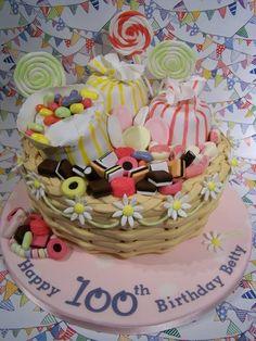 Betty's 100th Birthday  Cake by SueC