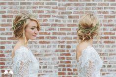aESTHETICa: Dress. Hair. Friends. Fun. #weddingcrowns