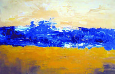 abstract landscape acrylic - Google Search