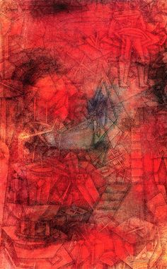 The Athenaeum - Stage Rehearsal (Paul Klee -1925, watercolor, H: 46.4 cm (18.27 in.), W: 28.6 cm (11.26 in.)  )