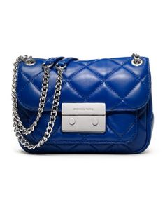 A quilty pleasure. MICHAEL Michael Kors Small Sloan Quilted Shoulder Bag