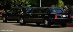 President Obama's motorcade parked at State House Nairobi, Kenya during his press conference. source: http://gallerymichaelkhateli.blogspot.co.ke