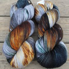 Coffee Break - Yowza - Babette   Miss Babs Hand-Dyed Yarns & Fibers, Inc.  What a gorgeous colorway!  Want!